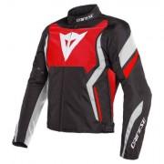 Dainese Edge Textiele motorjas - Rood-Zwart-Wit - Rood-Zwart-Wit - Size: 56