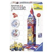 Ravensburger puzzle 3d big ben minions, 216 piese