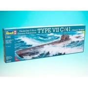 Modelul submarin ModelKit 05100 - Submarinul tip VII C / 41 (1: 144)