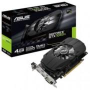Видео карта NVIDIA GeForce GTX 1050 TI, 4GB, Asus Phoenix GTX 1050Ti, PCI-E 3.0, GDDR5, 128-bit, HMDMI, DVI, DisplayPort