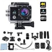 IBS 4K Ultra HD 16 MP WiFi Waterproof Action CCamera (Black)