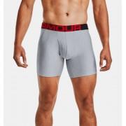 Under Armour Herenboxer UA Tech™ 15 cm Boxerjock® – 2 stuks - Mens - Gray - Grootte: 2X-Large