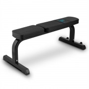 Capital Sports Flat B Banco de Exercício Fitness 250 kg Aço Preto
