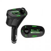 MP3 Player pentru masina cu modulator de frecventa, verde