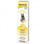 2x200g GimCat pasta de queijo com biotina para gatos