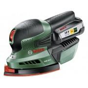 Bosch Home and Garden PSM 18 LI 06033A1303 Accu-multischuurmachine Incl. accu 18 V 2.5 Ah 93 x 93 x 93 mm, 102 x 62 mm