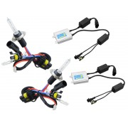 Kit Complet Becuri Xenon Auto H7 Blow HID Slim CanBus 6000K, Putere 35W
