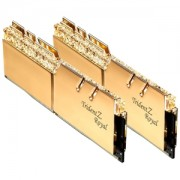 Memorie G.Skill Trident Z Royal Gold RGB 16GB (2x8GB) DDR4 3200MHz 1.35V CL14 Dual Channel Kit, F4-3200C14D-16GTRG