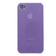 GadgetBay Étui rigide pour iPhone 4 4S Mesh Case - Violet