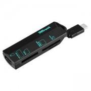 Четец за карти TRUST USB-C Cardreader, 20968
