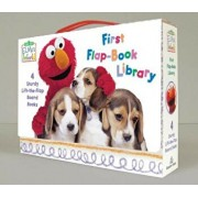 Elmo's World: First Flap-Book Library (Sesame Street), Hardcover/Random House