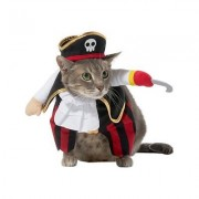 Frisco Walking Pirate Dog & Cat Costume, X-Small