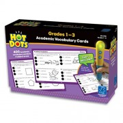 Hot Dots: Academic Vocabulary Cards, Grades 1-3