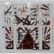 "Stickers - The Hobbit LEGO Original -STICKER SHEET- for The Hobbit Set #79014 ""Dol Guldur Battle"""