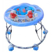 Oh Baby Square Shape Pilastic Boby BLUE Color Walker For Your Kids LHI-OHV-SE-W-84