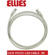 Ellies CAT6 SFTP 5m Network Patch Cable - Grey,