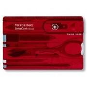 SwissCard Nailcare Victorinox Classic rosu