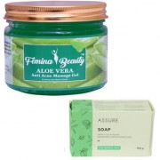 Femina Beauty Aloevera Gel 400gm with Assure Neem Soap
