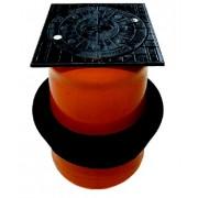 3395001235 - Pipe Life Teleskopický kanalizačný poklop 400 plastový 1,5 t