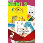Pachet Nemi 2 2 carti de Valentin Nicolau+culori