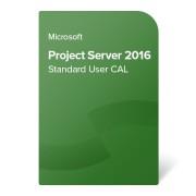 Microsoft Project Server 2016 Standard User CAL OLP NL, H21-03453 електронен сертификат