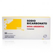 Nova Argentia Spa Sodio Bicarb 500 Mg Compresse 50 Compresse