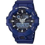 Casio G-shock Analog-Digital Black Dial Mens Watch-GA-700-2ADR (G741)