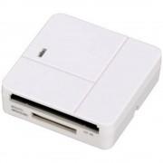 Vanjski čitač memorijskih kartica 94125 Hama USB 2.0 bijela