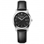 Wenger City Classic Reloj de cuarzo acero inoxidable black/black