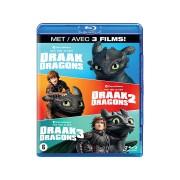Hoe Tem Je Een Draak 1-3 - Blu-ray