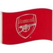 Arsenal Vlag Logo - Rood