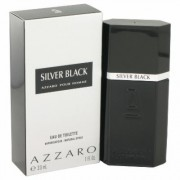 Silver Black For Men By Azzaro Eau De Toilette Spray 1 Oz