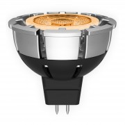 GU5.3 7W MR16 LED reflector lamp, dimmable