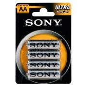 Sony Ultra cink R6-ceruzaelem 4 db