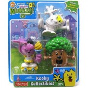Wow Wow Wubbzy Kooky Colletibles Woodsy Wubbzy Mummzy Wubbzy and Michelle Kwanzzleberry