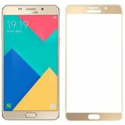 TechGear Edge To Edge Tempered Glass for Samsung Galaxy A9 Pro (Gold)