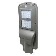 Proiector Stradal LED 40 W, Panou Solar, Senzor Miscare, Senzor Luminozitate