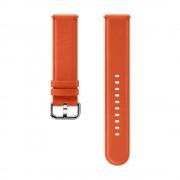 Samsung Pasek Skórzany Pomarańczowy do Galaxy Watch Active/Active 2 20mm (ET-SLR82MOEGWW)