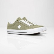 Converse One Star Ox In Green - Size 35