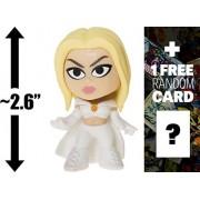 "Emma Frost: ~2.6"" X-Men x Funko Mystery Minis Vinyl Mini-Bobble Head Figure + 1 FREE Official Marvel Trading Card Bundle (116923)"