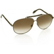Roberto Cavalli Aviator Sunglasses(Brown)
