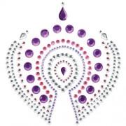Decorações Corporais Mimi Flamboyant Bijoux Indicrets Rosa & Roxas