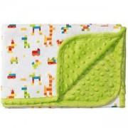 Двулицева бебешка пелена - зелена, 1410 01 BabyOno, 0230028