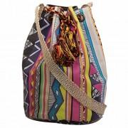 The House of tara Women's Sling Bag (Multi-Coloured)