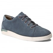 Обувки CLARKS - Stanway Lace 261280967 Blue Suede