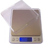 Hum Enterprise Professional Digital Pro Pocket 500gx0.01g LCD light Table Top Electronic Weight Scale Weighing Scale(Silver)