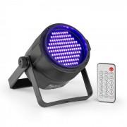 Beamz PLS20 Blacklight Reflector LED UV 120 x 3528 LEDs Batería Mando a distancia (Sky-153.249)