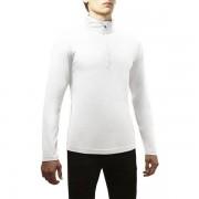 Rewoolution Men Half Zip Fakie Long Sleeve white