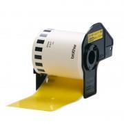 Brother DK-22606 – Nero su giallo, 62 mm di larghezza - DK22606