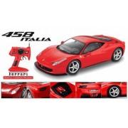 Licensed 1/10th scale Ferrari 458 Italia RTR dies cast radio control car